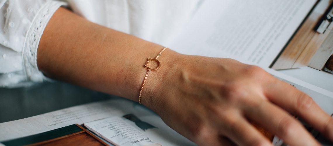 bracelet tête de chat (3)